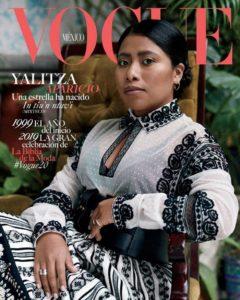Yalitza Aparicio en portada de Vogue México